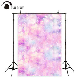 painting pastels Canada - wholesale photocall background for photo pastel dreamy color bokeh abstract pink girl wallpaper glitter star fotografia backdrop