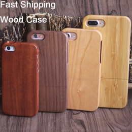 Wholesale Dongguan Manufacturer Wood Case For iphone X S S Mobile Cellphone Cover Real Bamboo Cases Wooden Phone Cover For Samsung S8 S9 S7