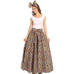 01ce5651a1b New Women Summer Boho Floral Slit High Waist Dress Skirt Beach Party Maxi  Skirts Ypf44