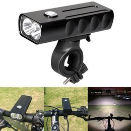 Su geçirmez Şarj Edilebilir USB 1000LM 2 LED Bisiklet Lambası 360 Derece Rotasyon Braketi ile Destek 3 Modu Işık BLL_026