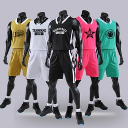 Clothes For Basketball NZ - basketball clothes suit , short sleeve and sleeveless,Customize text and pattern in your clothes,please contact us for printing