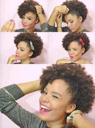 $enCountryForm.capitalKeyWord Australia - Rihanna Chic Short Human Cut Hair Wigs Pixie cut full lace wig Top Grade Glueless Lace Virgin Brazilian Hair Wigs For Black Women