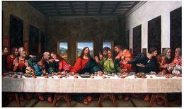 $enCountryForm.capitalKeyWord Australia - No Frame Canvas Art Canvas Painting Real Picture World Famous The Last Supper Leonardo Da Vinci Core Christian Church Wall