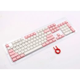hfsecurity Va Keycaps For Mechanical Keyboard Dva Pink Color 3d Aluminuim Key Cap D