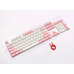 Va Keycaps For Mechanical Keyboard hfsecurity Dva Pink Color 3d Aluminuim Key Cap D