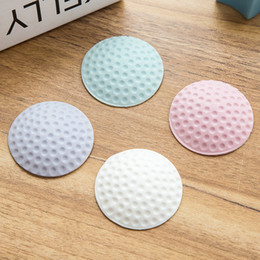 Golf Edge Canada - Anti Shocking Quite Golf Ball Door Wall Stop Stopper Rubber Style Home Decor Doorstop Wedge Edge Protection