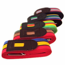 Packing belt straP online shopping - Convenient Durable Baggage Belts High Strength Thicken Packing Safe Belt Practical Resuable Travel Luggage Suitcase Strap Colorful qs BB