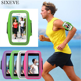 Discount pouches for huawei p8 lite - Universal Sports Running Arm Band Phone Case For X 8 7 6 6S Plus For Huawei P8 P9 P10 P20 Lite Plus Workout Pouch Cover