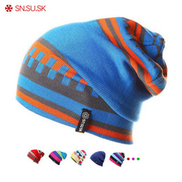 2adde8d078a SK 2018 Winter gorros Brand SNSUSK Snowboard Winter hat skating Ski caps  skullies and beanies for men women Hip Hop caps S1020