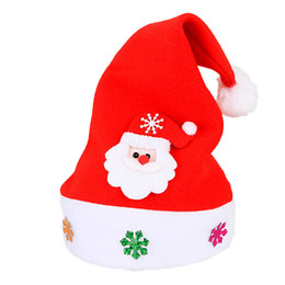 5879d82f50683 2017 New Arrival Kid Cheer Christmas Hat Children Santa Claus Reindeer  Snowman Party Cute Cap wedding Holiday decoration