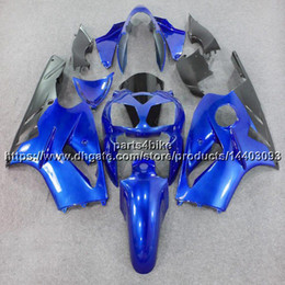 $enCountryForm.capitalKeyWord Australia - 5Gifts+Custom INJECTION MOLD ABS blue Fairing For Kawasaki NINJIA ZX12R 2002 2003 2004 2005 2006 ZX-12R ABS plastic bodywork kit