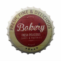 Bakery Decor NZ - Delicious Food Metal Tin Signs Bakery Art Poster Vintage Pub Bar Bakeshop Room Home Decor Pub Wall Plaque