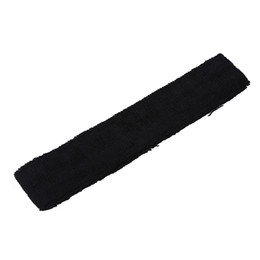 tennis racket grip black 2019 - 75cm Long Adhensive Tape Tennis Racket Sweat Absorption Towel Grip Black discount tennis racket grip black