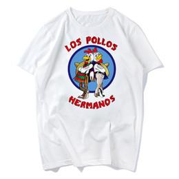 Broken Bad Australia - LOS POLLOS Hermanos men T Shirt Chicken Brothers 2018 hot sale summer Breaking Bad Shirt women t-shirt fashion raglan tee s-xxxl