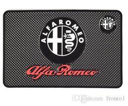 Car Emblem Glue Australia - Car-Styling Car Sticker Emblems Mat Case For Alfa Romeo 159 147 156 Giulietta Sp 147 159 Mito Interior Accessories Car Styling