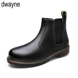 Plus Size Chelsea Stiefel Männer Winter Schuhe Schwarz Split Leder Stiefel  Herren Schuhe Warme Plüsch Pelz Winter Für Männer 869ko 372fbe4a40