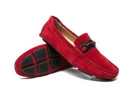 $enCountryForm.capitalKeyWord UK - Men leisure dress shoe part gift doug shoes Metal Buckle Slip-on Famous man lazy falts Loafers Zapatos Hombre d2a13