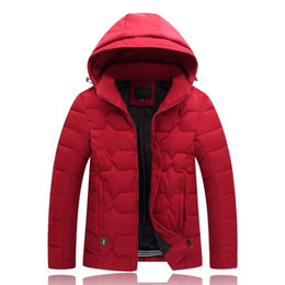 men flower clothes 2019 - 2018 High Quality winter man Down cotton Jacket Warm Brand Clothing winter cotton Down Outerwear plus size 2XL-9XL men p