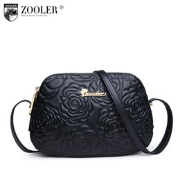 70b98731a3 ZOOLER Fashion Genuine leather bags for women messenger bags Small Luxury  crossbody bag famous brand Women shoulder 2355