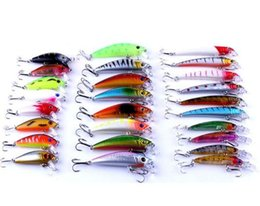 Mix Artificial Bait Australia - Mixed Fishing Lure Bait Set Kit pesca fishing Wobblers isca artificial Crankbait Swimbait Treble Hook floating fake lure
