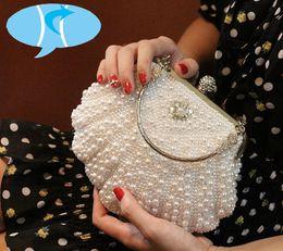 5a95698ff9 Fashion Handbags Imitation Australia - Bekasnoew New Fashion Women Handbags  Flap imitation pearl Evening Bags Bling