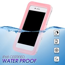 Iphone water dust proof online shopping - New Arrival IP68 Waterproof Shockproof Dust proof Mobile Phone Case for Samsung Galaxy S8 S8 Plus S9 S9plus iPhone plus
