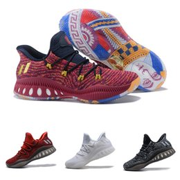 f144950bb High quality Crazy Explosive 2017 PK Andrew Wiggins Low Red Zebra Las Vegas  Basketball Shoes for Mens Trainers Sports Sneakers Size 40-46