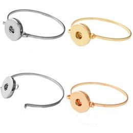 Noosa Snap bracciali gioielli in oro rosa argento metallo bottoni automatici con bottone a pressione 18mm bottoni a pressione regalo gioielli NOOSA