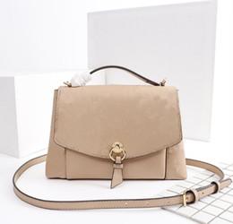 b3a6e6f1505 Sacs à bandoulière pour femmes de haute qualité marque de luxe Paris style sac  à main de mode modèle symétrique Designer sac taille 22x16x7cm modèle M43674