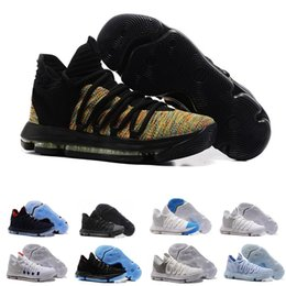 5cb5ad5d5158 8 Photos Chinese 2017 New Arrival KD 10 X Oreo Bird of Para Basketball Shoes  for High quality