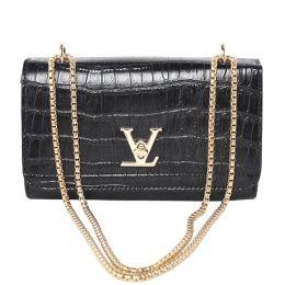 f5a43ba014 Women Fake Brand Designer Bags V Chain Bag Ladies Handbags High Quality  Shoulder Bag Alligator Women Messenger Bags RU370