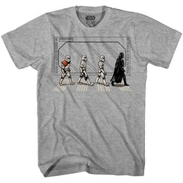 c26a3a919 Death Star Road Stormtrooper Crossing Mens T-Shirt Mens 2018 Cheap  wholesale tees 100% Cotton For Man T shirt printing
