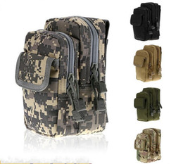 Molle pouches accessory online shopping - Phone Outdoor sports tactical waist bag molle accessory casual sports wear belt nylon bag custom