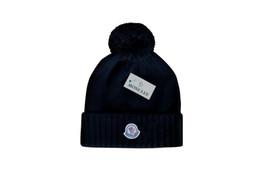 New Stamping cappelli invernali per uomo donna maglia Pom Poms cappello berretto Marca Beanie Hat LadiesThicken Hedging Warm Skullies Female Bone
