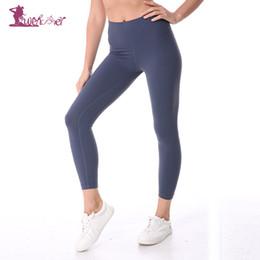 $enCountryForm.capitalKeyWord Australia - Lurehooker Women Solid Sports Fitness Yoga Pants Super Stretchy Gym Tights Leggings Pants Womens High Waist Sportswear Z18