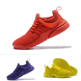 ac088b7f1ce3 2018 Hot Presto 5 Ultra BR QS Black White All Yellow Purple Red Grey Running  Shoes for Women Men Top Prestos V Casual Sports Sneakers 36-45