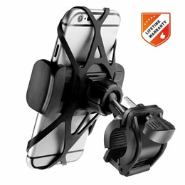 Motorcycle phone holder cradle online shopping - Bike Phone Mount Bicycle Holder Universal Cellphone Bicycle Rack Handlebar Motorcycle Holder Cradle for Smartphone Phones