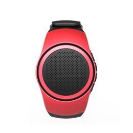 Mini Speaker Player Australia - ZZYD B20 Mini Bluetooth Speaker Bass Smart Watch Bluetooth Wireless Universal For Music Player With TF Card