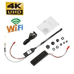 Access Module Australia - New 4K Super Wifi Remote Cameras with Button Cover DIY Network Camera Module Wireless Nanny Cam Portable Mini Camcorder Security Camera