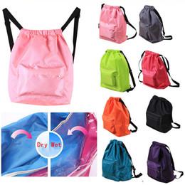 $enCountryForm.capitalKeyWord Australia - Waterproof Sport Bag Double Layer Diving Bag Backpacks Swimming Backpack Combo Dry Wet Separation sac Bag