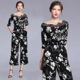 573cdfa0284 Nice Jumpsuits NZ - Lady Nice Printing Jumpsuits   Rompers