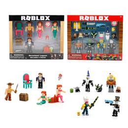 $enCountryForm.capitalKeyWord Australia - Virtual world building blocks doll,robot, mermaid, world champion Game Garage Kit Kids Toys Christmas Gi