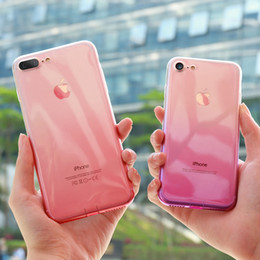 Crystal Clear Phone Cases NZ - For iPhone 6 6S iPhone 7 8 Plus Ultra Thin Cases Crystal Clear TPU Phone Cases