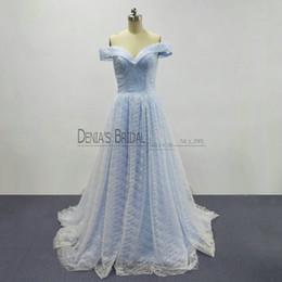 Light Blue Cinderella Prom Dresses 2018
