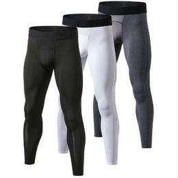 874d36bf32ebb 3 pcs GYM Leggings Hombre Fitness Trousers Sweat Pants For Men Sport Tights  Running Pants Compression Bodybuilding Pantalones