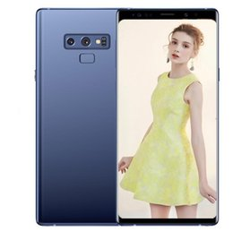 4g dual camera online shopping - ERQIYU Goophone note9 Note smartphones inch Android dual sim shown G ROM G LTE cell phones