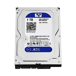 internal hard disks 2019 - Bluedisk1TBSATA6Gb s7200RPM64MBCache3.5InchDesktopHardDrive (Wd10EZEX)Mechanical hard disk