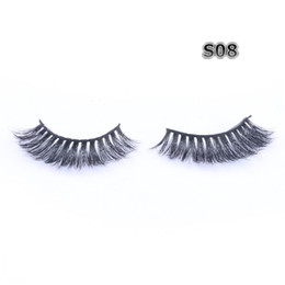 long lower eyelashes Australia - Real Mink Eyelashes Natural Long & Thick 3D Mink False Lashes High Quality Low Price Custom Packaging FDshine