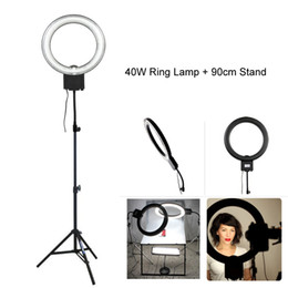 Discount stands for camera - Studio 34cm 40W 5400K Diva Video Ring Light with 90cm Tripod Stand for Photography Camera Phone Photo Make Up Selfie Lig