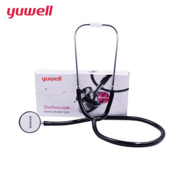 Wholesale yuwell stethoscope professional ALU medical stethoscope detector fetal cardiology stethoscopes Blood Pressure medical equipment CE CCC